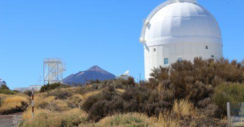 Besuch im Observatorium auf Teneriffa